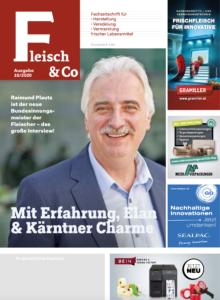 Fleisch & Co 10/2020: In dieser Ausgabe war Raimund Plautz unser Covermodel