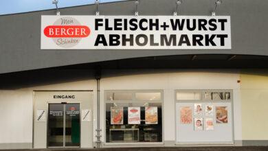 Der neue Berger Schinken Abholmarkt in Wetzelsdorf