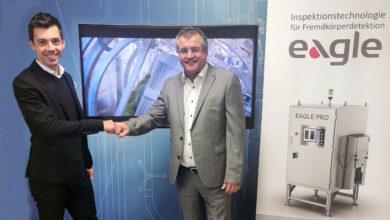 Manuel Hartmann, Geschäftsführer von Werfring und Hans Janik, CEO von Eagle (© Werfring)