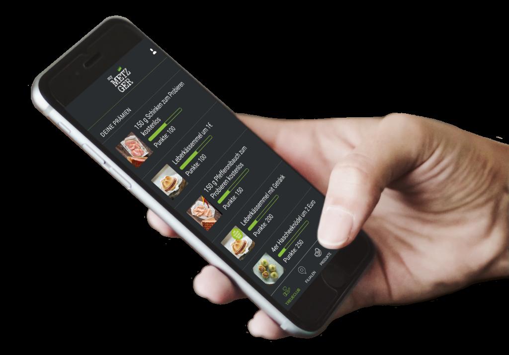 Regelmäßig erscheinende Aktionsflugblätter und die myMetzger App bringen Frequenz und sorgen für Kundenbindung.
