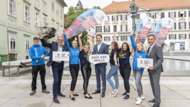 """EuroSkills: Kanzler-Besuch in der """"City of Skills"""""""