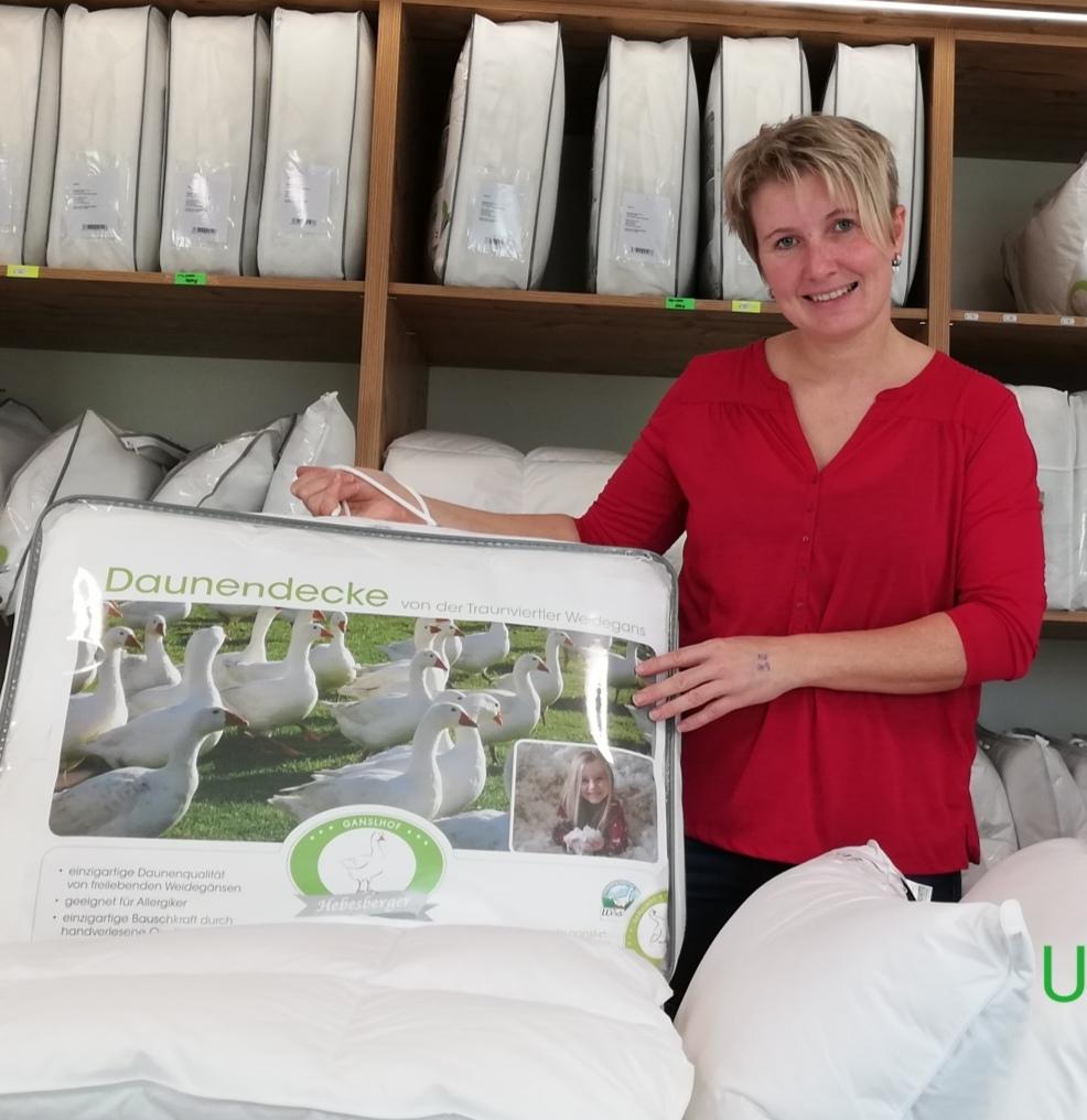 """Unsere Betriebe vermarkten regional, aber mit der Homepage haben wir eine Anlaufstelle, um überhaupt zum Bauern zu fin- den"""", beschreibt Heidi Hebesberger"""
